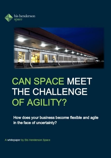 can space meet the challenge of agility